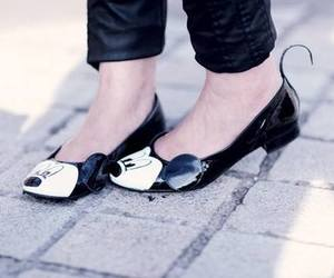 shoes, mickey mouse, and cute image