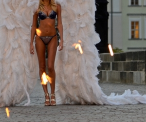 angel, model, and candice swanepoel image