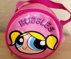 bubbles, pink, and bag image