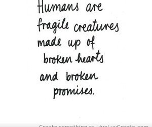 quote, humans, and broken image