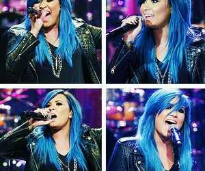 demi lovato and blue image