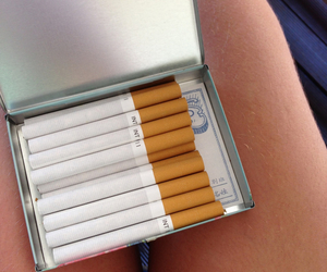 cigarettes, deck, and smokes image