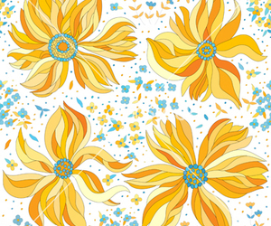 background, floral, and flowers image