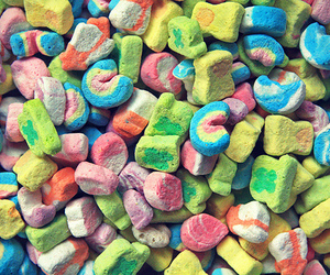 lucky charms, food, and cereal image