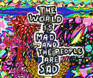 world and mad image