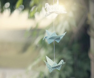 origami and Swan image