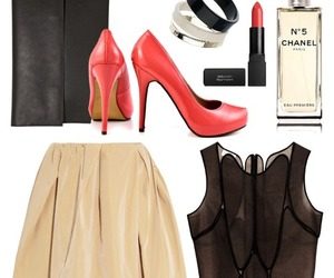 bag, bangles, and beige image