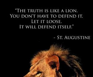 lion, quotes, and truth image