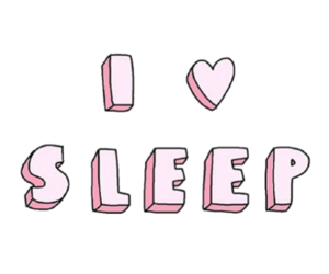 sleep, quotes, and pink image