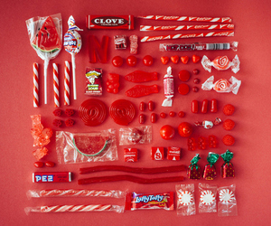 candy, red, and sweet image
