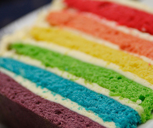cake, colorful, and delicious image