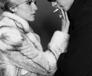 sienna miller, factory girl, and cigarette image