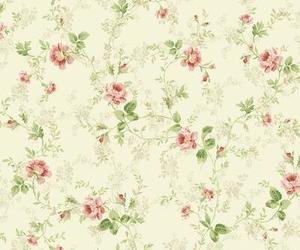 background, flowers, and vintage image