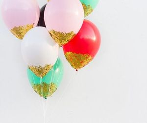 balloons, beautiful, and love image