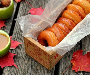 donuts, autumn, and doughnuts image
