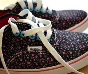moda, vans, and buty image