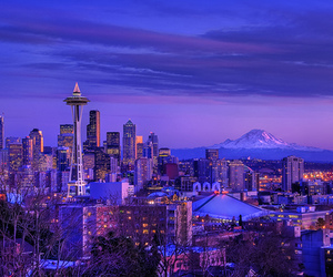 city, seattle, and america image