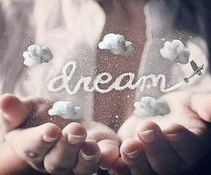clouds, Dream, and hands image