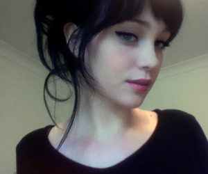 bangs, beauty, and cool image