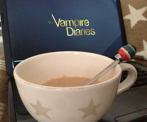 autumn, cosy, and the vampire diaries image