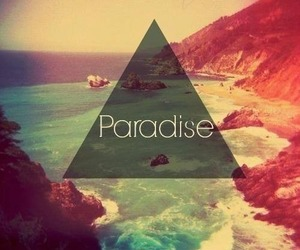 paradise, beach, and summer image
