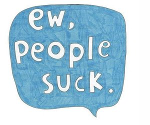 people, sucks, and quotes image