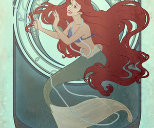 disney, ariel, and greed image