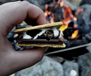 cookie and marshmellow image