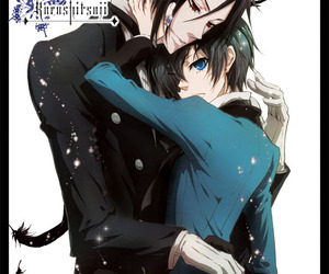 anime, black butler, and blue eyes image