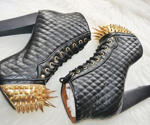 boots, heels, and jeffrey campbell image