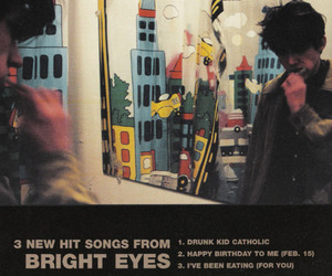 Bright Eyes, conor oberst, and genius image