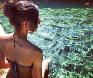 back, fashion, and beach image