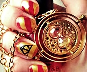 always, harry potter, and nails art image
