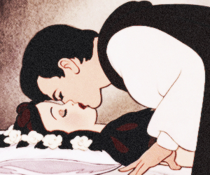 kiss, disney, and snow white image