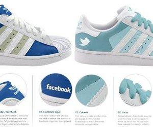 facebook, superstar, and adidas image