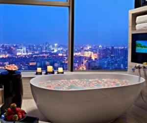 bath, city, and luxury image