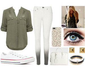 blonde, converse, and Polyvore image