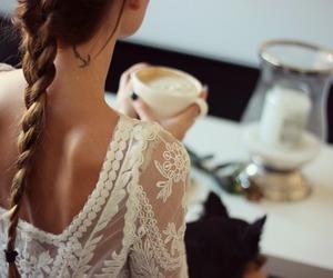 hair, tattoo, and braid image