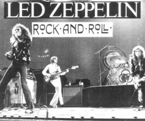 led zeppelin, rock, and rock and roll image