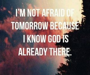 god, trust him, and healthy mind image
