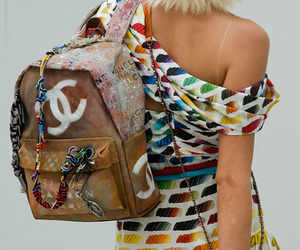 bags, blonde, and chanel image