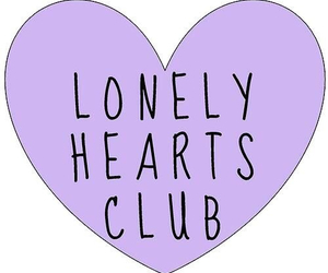 lonely, heart, and hearts image