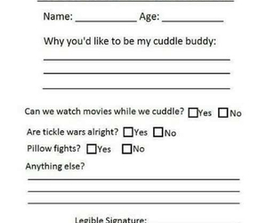 cuddle, buddy, and application image