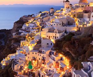 Greece, house, and beautiful image