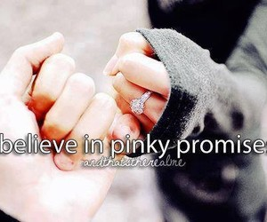 promise, pinky, and pinky promise image