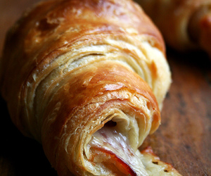 croissant, food, and yummy image