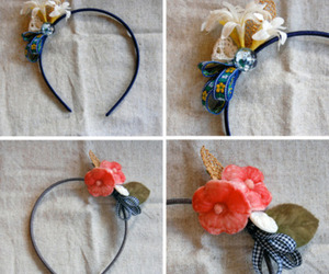 accessories, craft, and hair image