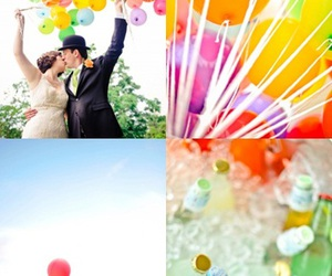 balloons, colours, and lovely image