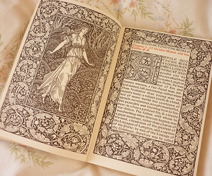 antique, fairytale, and book image