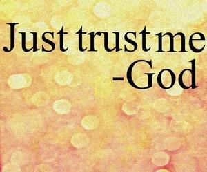 god, trust, and faith image